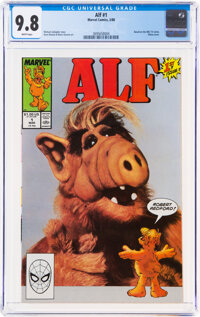 Alf #1 (Marvel, 1988) CGC NM/MT 9.8 White pages