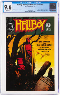 Hellboy: The Corpse and The Iron Shoes #nn (Dark Horse, 1996) CGC NM+ 9.6 White pages
