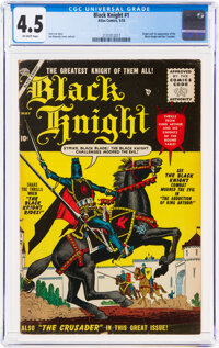 Black Knight #1 (Atlas, 1955) CGC VG+ 4.5 Off-white pages