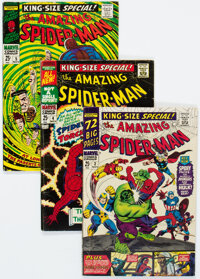 The Amazing Spider-Man Annual #3-5 Group (Marvel, 1966-68) Condition: Average VG.... (Total: 3 Comic Books)