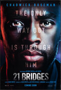 Movie Posters:Crime, 21 Bridges (STX, 2019). Rolled, Very Fine-. One Sh...