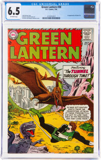Green Lantern #30 (DC, 1964) CGC FN+ 6.5 Off-white pages