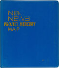 Explorers:Space Exploration, Mercury-Atlas 9 (Faith 7): NBC News Reference Binder with Annotations Used by Roy Neal to Report on the Mission....