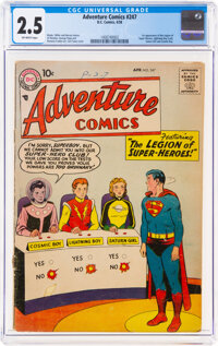 Adventure Comics #247 (DC, 1958) CGC GD+ 2.5 Off-white pages