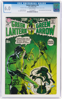 Green Lantern #76 (DC, 1970) CGC FN 6.0 Off-white pages