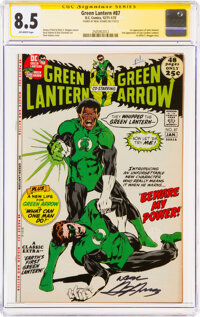 Green Lantern #87 (DC, 1971) CGC VF+ 8.5 Off-white pages