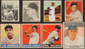 Baseball Cards:Lots, 1941-50 Bowman, Playball and Leaf Baseball Collection (30) With Stars. ...
