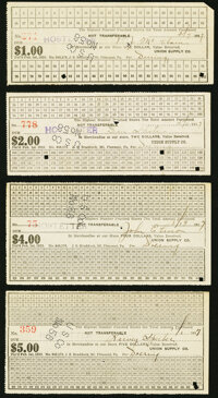 Iowa, Possibly New York, and Pennsylvania Paper items. Dubuque, IA- Dubuque & Sioux City Railroad Company Fractional...
