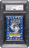 Memorabilia:Trading Cards, Pokémon Demo Game Sealed Booster Pack (Wizards of the Coast, 1998) PSA GEM MT 10....