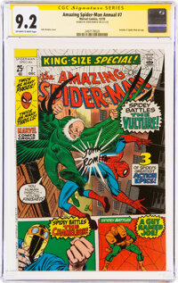 The Amazing Spider-Man Annual #7 Signature Series: John Romita (Marvel, 1970) CGC NM- 9.2 Off-white to white pages