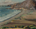 Paintings, Clark Hobart (American, 1868-1948). California Coastline. Oil on canvas . 17 x 20 inches (43.2 x 50.8 cm). Signed lower ...