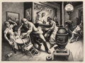 Works on Paper, Thomas Hart Benton (American, 1889-1975). Frankie and Johnny, 1936. Lithograph on paper. 16-1/4 x 22-1/4 inches (41.3 x ...