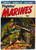 Golden Age (1938-1955):War, Fightin' Marines #5 (St. John, 1952) Condition: VG+....