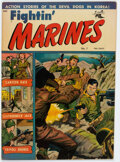 Golden Age (1938-1955):War, Fightin' Marines #7 (St. John, 1952) Condition: FN-....