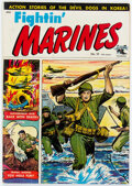 Golden Age (1938-1955):War, Fightin' Marines #10 (St. John, 1952) Condition: VG+....