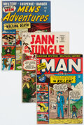 Golden Age (1938-1955):Miscellaneous, Atlas Comics Golden to Silver Age Group of 14 (Atlas, 1950-57) Condition: Average GD.... (Total: 14 Comic Books)