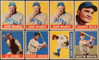 1948 Leaf Baseball Collection (22) Including Three Honus Wagner Cards