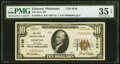 National Bank Notes:Oklahoma, Edmond, OK - $10 1929 Ty. 1 The First National Bank Ch. # 6156 PMG Choice Very Fine 35 EPQ.. ...