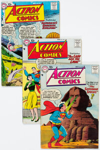 Action Comics Group of 12 (DC, 1958-65) Condition: Average FN+... (Total: 12 Comic Books)