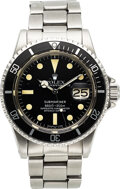 Timepieces:Wristwatch, Rolex, Oyster Perpetual Submariner, Ref. 1680, Stainless S...