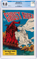 Golden Age (1938-1955):Western, Ghost Rider #2 (Magazine Enterprises, 1950) CGC VF/NM 9.0 Off-white to white pages....