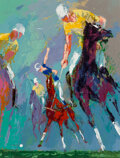 Paintings, LeRoy Neiman (American, 1921-2012). Polo at Windsor II, 1966. Oil on Masonite. 24 x 18 inches (61.0 x 45.7 cm). Signed a...