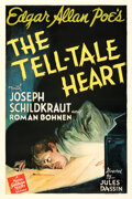"""Movie Posters:Horror, The Tell-Tale Heart (MGM, 1941). Fine on Linen. One Sheet (27"""" X 41""""). From the Theaters of Old Detroit Collection..."""