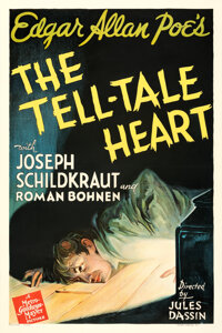 """The Tell-Tale Heart (MGM, 1941). Fine on Linen. One Sheet (27"""" X 41""""). From the Theaters of Old Detroit Collec..."""
