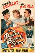 Movie Posters:Comedy, The Palm Beach Story (Paramount, 1942). Fine on Linen....