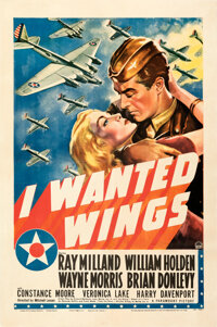 """I Wanted Wings (Paramount, 1941). Fine/Very Fine on Linen. One Sheet (27"""" X 41"""") Style A"""