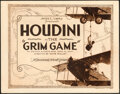 "Movie Posters:Adventure, The Grim Game (Paramount, 1919). Fine/Very Fine. Title Lobby Card (11"" X 14"").. ..."