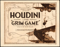 "The Grim Game (Paramount, 1919). Fine/Very Fine. Title Lobby Card (11"" X 14"")"