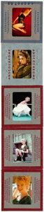 Movie Posters:Miscellaneous, Marilyn Monroe Kodachrome Slides by Milton Greene and Tom ...