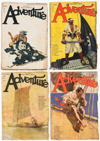 Adventure Group of 43 (Ridgway Company, 1919-71) Condition: Average GD.... (Total: 43 Items)