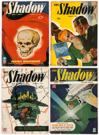 Shadow Group of 7 (Street & Smith, 1943) Condition: Average VG.... (Total: 7 )