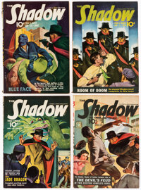 Shadow Group of 11 (Street & Smith, 1942-43) Condition: Average VG.... (Total: 11 Items)