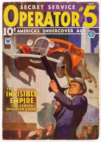 Operator #5 May 1934 (Popular) Condition: VG