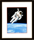 Explorers:Space Exploration, Bruce McCandless II Signed STS-41-B Untethered Spacewalk C...