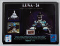 Explorers:Space Exploration, Luna 24: Flown Artifact from Luna 24 Spacecraft in an Illustrated Acrylic Display. ...