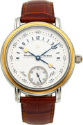 Timepieces:Wristwatch, Maurice Lacroix, Steel & Gold Gent's Watch With Day/Night ...