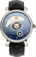 Timepieces:Wristwatch, Martin Braun, Heliozentric Wristwatch With World Positioni...