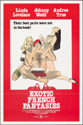 """Movie Posters:Adult, Exotic French Fantasies & Other Lot (1974). Flat Folded, Very Fine. One Sheets (2) (27"""" X 41""""). Adult.. ... (Total: 2 Items)"""