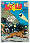 Golden Age (1938-1955):Superhero, Batman #92 (DC, 1955) Condition: VG-. The origin a...