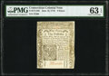 Colonial Notes:Connecticut, Connecticut June 19, 1776 9d PMG Choice Uncirculated 63 EPQ.. ...