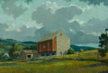 Paintings, Eric Sloane (American, 1905-1985). Pennsylvania Summer. Oil on Masonite. 25 x 37-1/4 inches (63.5 x 94.6 cm). Signed and...