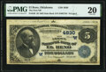 National Bank Notes:Oklahoma, El Reno, OK - $5 1882 Date Back Fr. 538 The First National Bank Ch. # (W)4830 PMG Very Fine 20.. ...