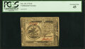 Continental Currency November 29, 1775 $5 Fr. CC-15 PCGS Extremely Fine 45