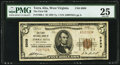 National Bank Notes:West Virginia, Terra Alta, WV - $5 1929 Ty. 1 The First National Bank Ch. # 6999 PMG Very Fine 25.. ...