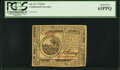 Colonial Notes:Continental Congress Issues, Continental Currency July 22, 1776 $6 Fr. CC-43 PCGS Choice New 63PPQ.. ...