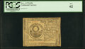 Colonial Notes:Continental Congress Issues, Continental Currency November 2, 1776 $30 Fr. CC-54 PCGS New 62.. ...
